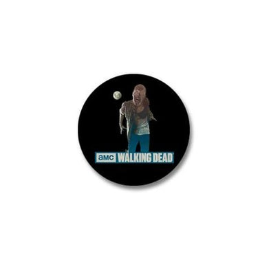 Walking Dead Full Moon Zombie Mini Button