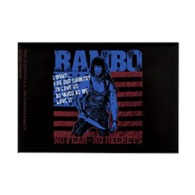 Rambo No Fear Magnet
