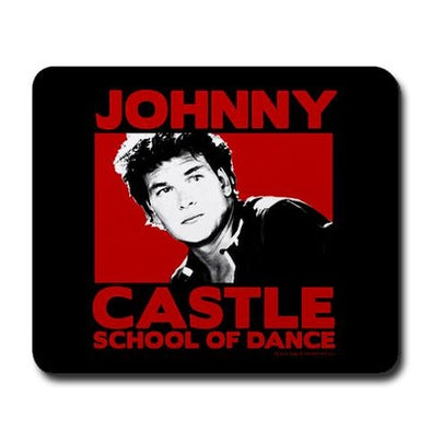 Dirty Dancing Johnny Castle Mousepad
