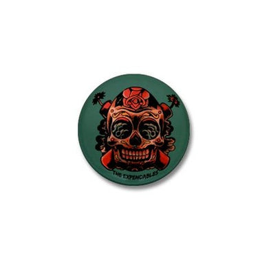 Skull TNT Mini Button