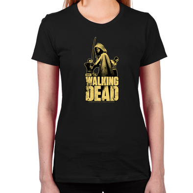 Zombie Killer Michonne Women's Fitted T-Shirt