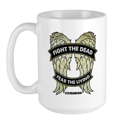 Daryl Dixon Wings Large Mug