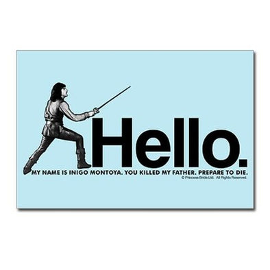 Inigo Montoya Postcards (Package of 8)