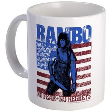 Rambo No Fear Mug