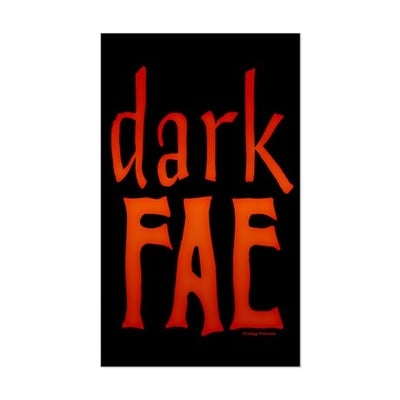 Lost Girl Dark Fae Sticker