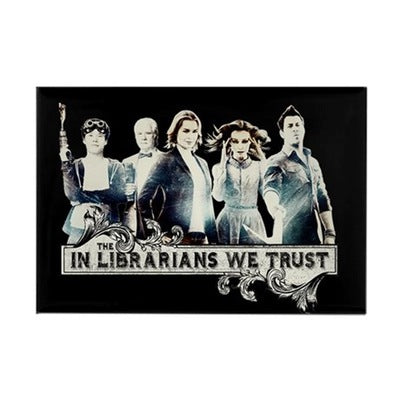 In The Librarians We Trust Magnet