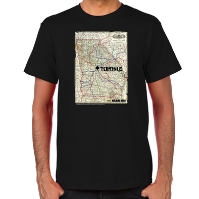Terminus Map T-Shirt