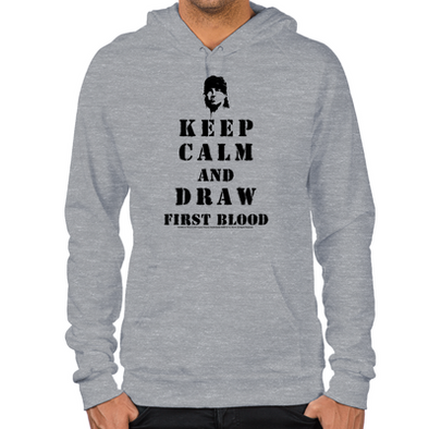 Keep Calm Rambo Hoodies
