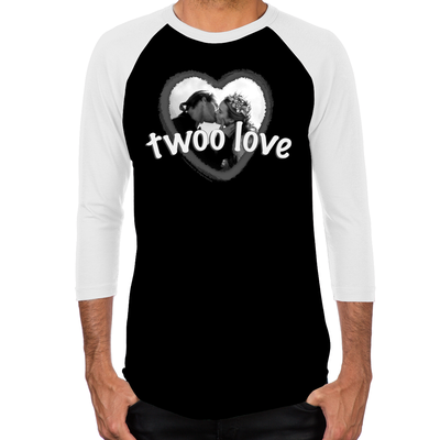 Twoo Love Men's Baseball T-Shirts