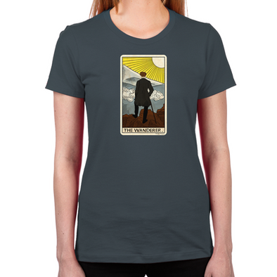 The Wanderer Women's Fitted T-Shirt