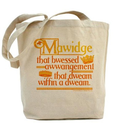 Mawidge Speech Tote Bag