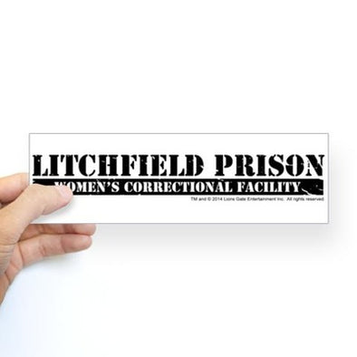 Litchfield Prison Bumper Sticker