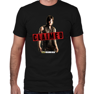 Daryl Dixon Claimed Fitted T-Shirt