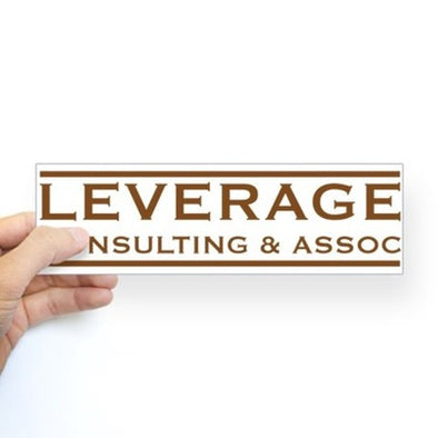 Leverage Consulting Bumper Sticker