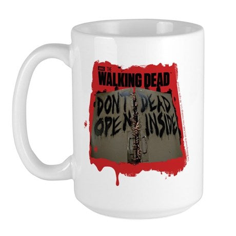 Don't Open Dead Inside Large Mug