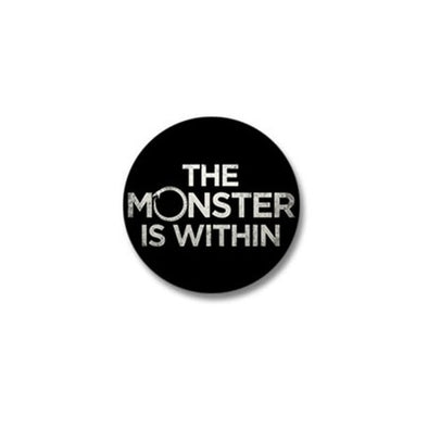 Monster Within Mini Button