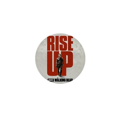 Rise Up Walking Dead Mini Button