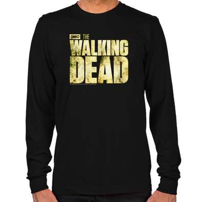 The Walking Dead Logo Long Sleeve T-Shirt