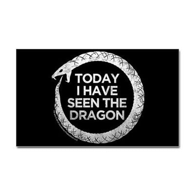 Hemlock Grove Dragon Sticker