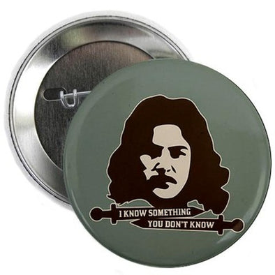 Inigo Montoya Knows Something Button
