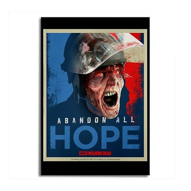 Walking Dead Abandon All Hope Magnet