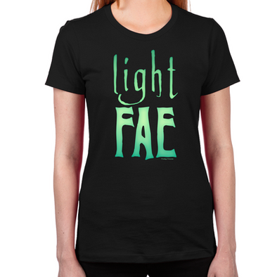 Lost Girl Light Fae Women's Fitted T-Shirt