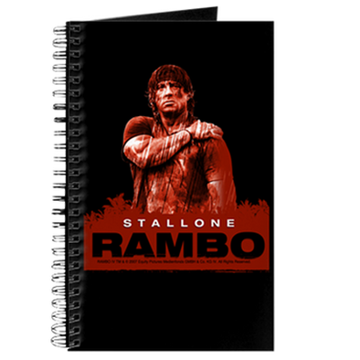 Rambo Stallone Rain Journal