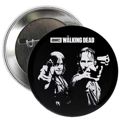 Walking Dead Saints Button