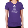 Keep Calm Carry a Crossbow Women's Fitted T-Shirt