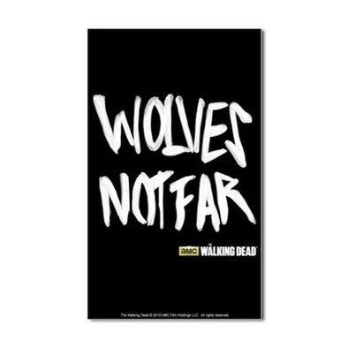Wolves Not Far Sticker