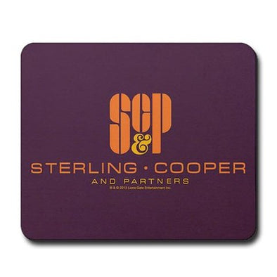 SCP Mad Men Logo Mousepad