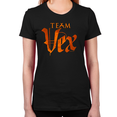 Lost Girl Team Vex Women's Fitted T-Shirt