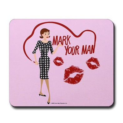 Mad Men Peggy Mousepad