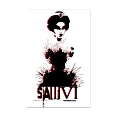 Saw Nurse Mini Poster