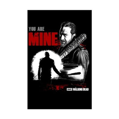 Negan You Are Mine Mini Poster Print