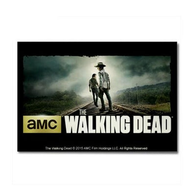 Walking Dead Carl and Rick Grimes Don't Look Back Magnet