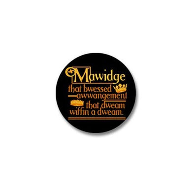 Mawidge Speech Mini Button