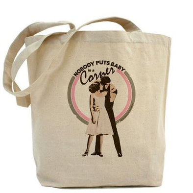 Dirty Dancing Baby in a Corner Tote Bag