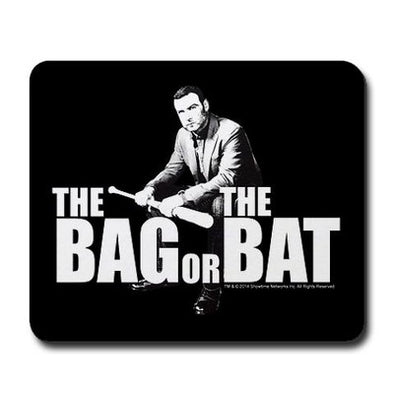 The Bag Or Bat Mousepad