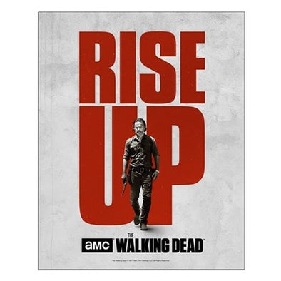 TWD Rise Up Rick Small Poster