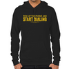 Wolf of Wall Street Pick Up the Phone Hoodie