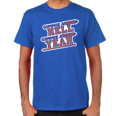 Blue Mountain State Hell Yeah Men's T-Shirt