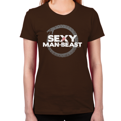 Sexy Man Beast Women's Fitted T-Shirt