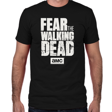 Fear the Walking Dead Fitted T-Shirt