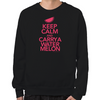 Keep Calm and Carry a Watermelon Sweatshirt