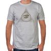 Eye Ouroboros Fitted T-Shirt
