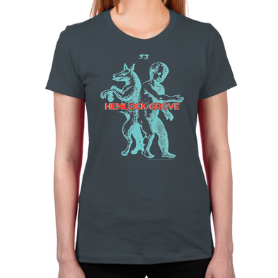 Werewolf Women's Fitted T-Shirt