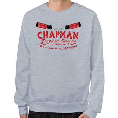 Chapman's Electrical Sweatshirt