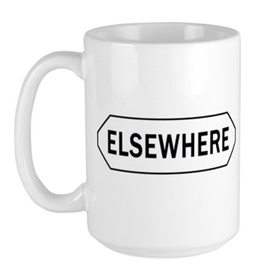Elsewhere Large Mug