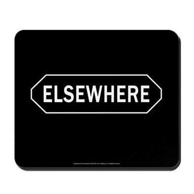 Elsewhere Mousepad